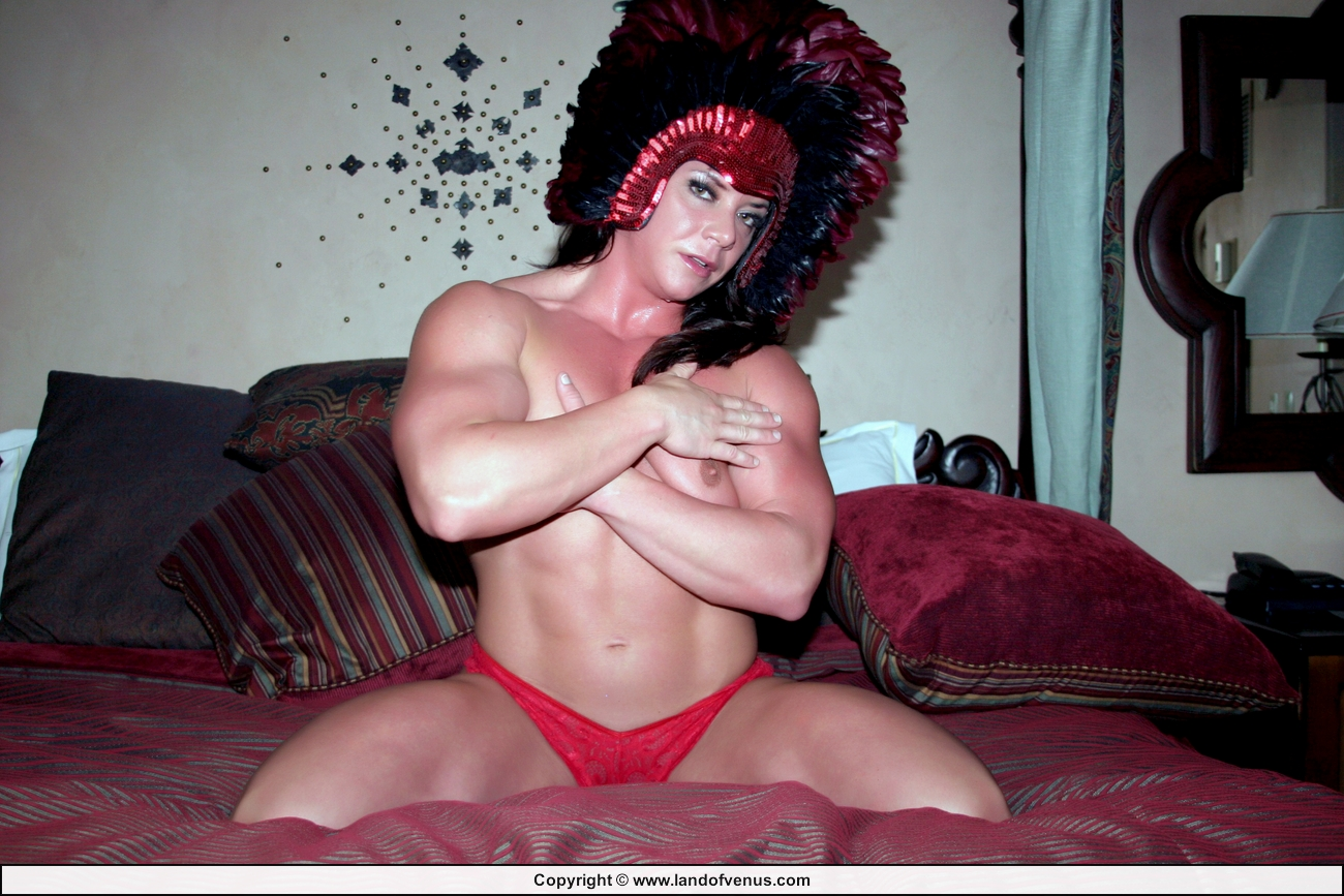 Female bodybuilder sarah dunlap nude not