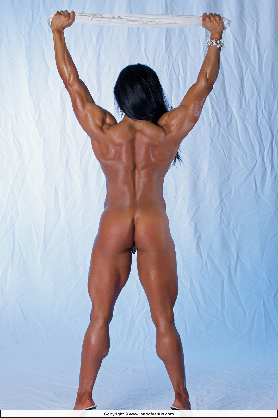 Female bodybuilder marina lopez hot amp hard female muscle