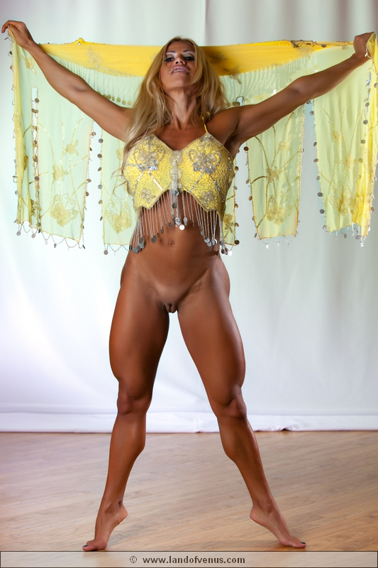 For the Braziian nude female bodybuilder something is