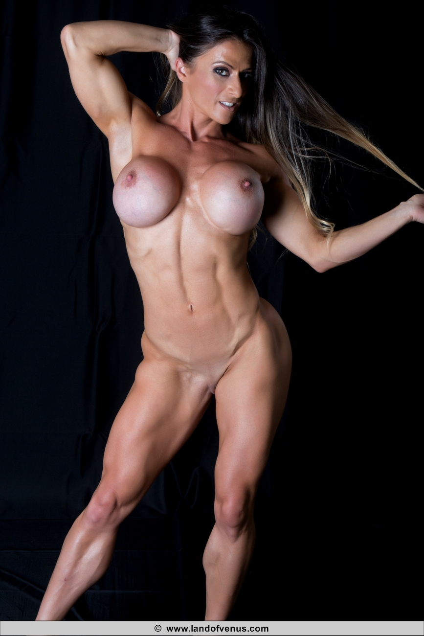 Sheila Rock Naked Female Muscle Girls And Fitness Girls-8058