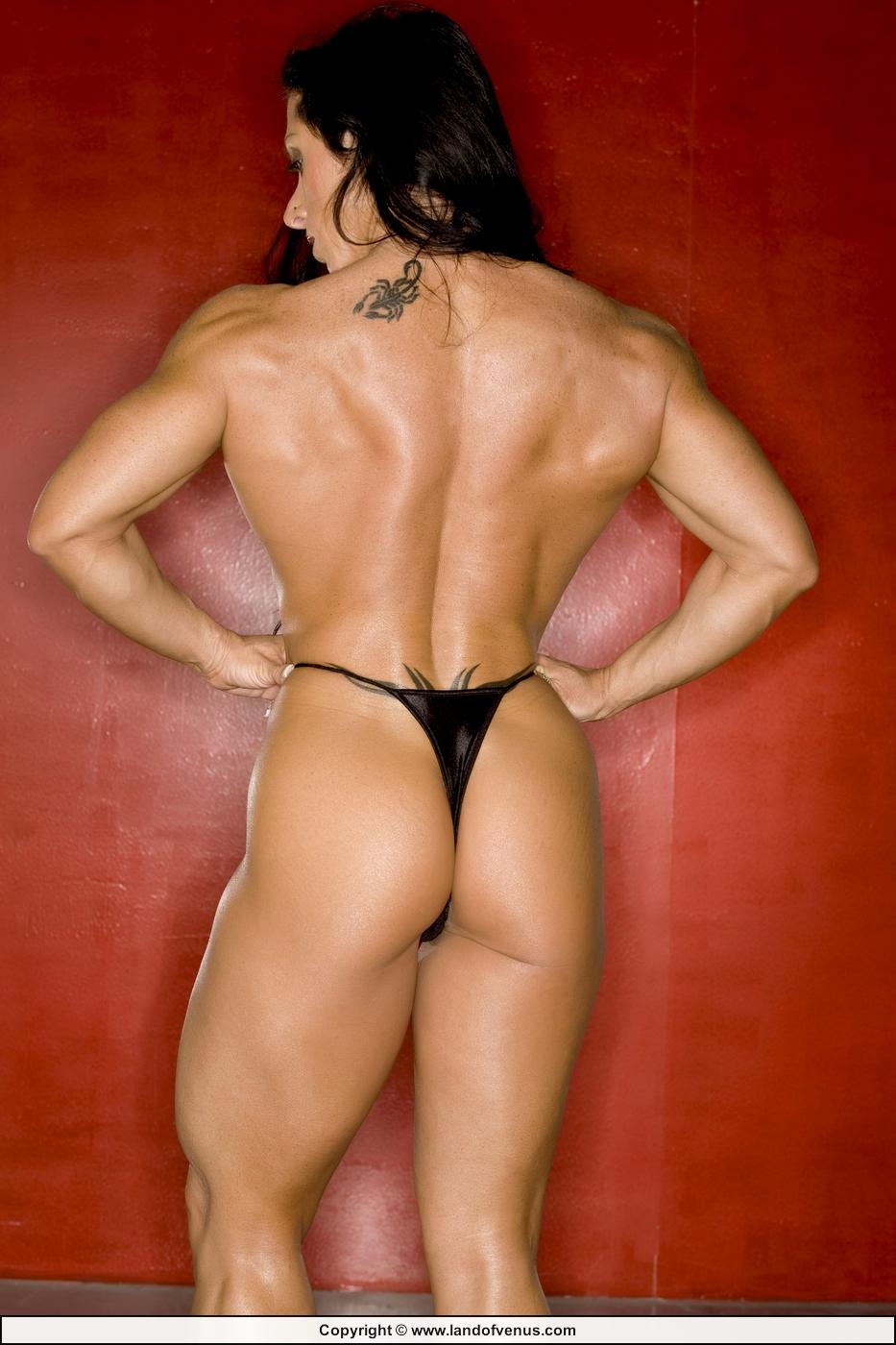 IFBB Pro Bodybuilder Monica Martin Nude