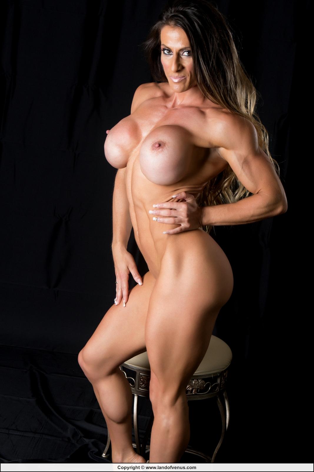 Nude female muscle sheila rocks nude photo