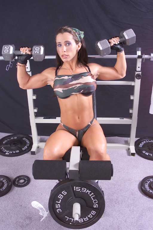 hot fitness model sex