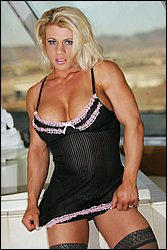 Female Muscle Pornstar