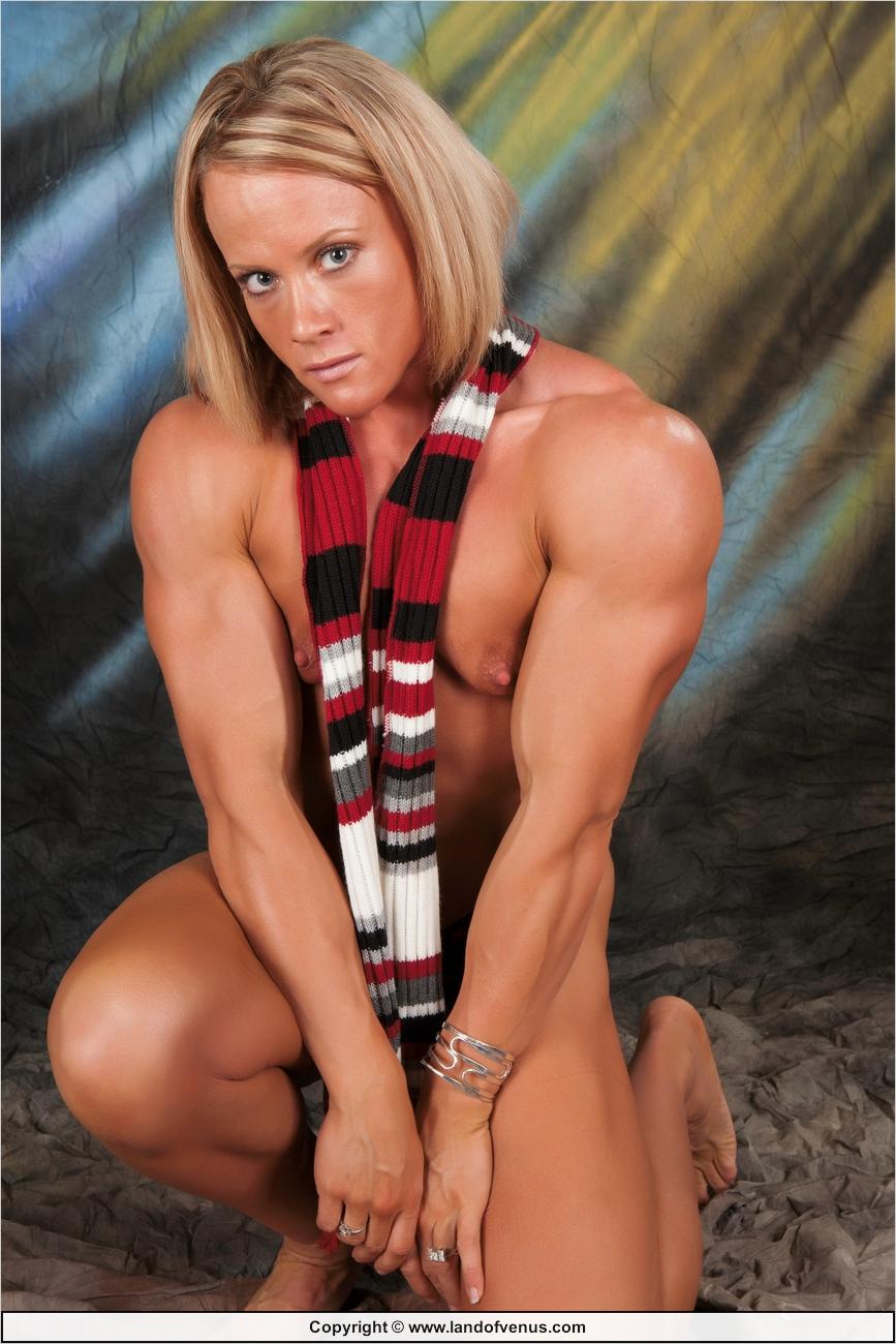 Nude female bodybuilder amanda final