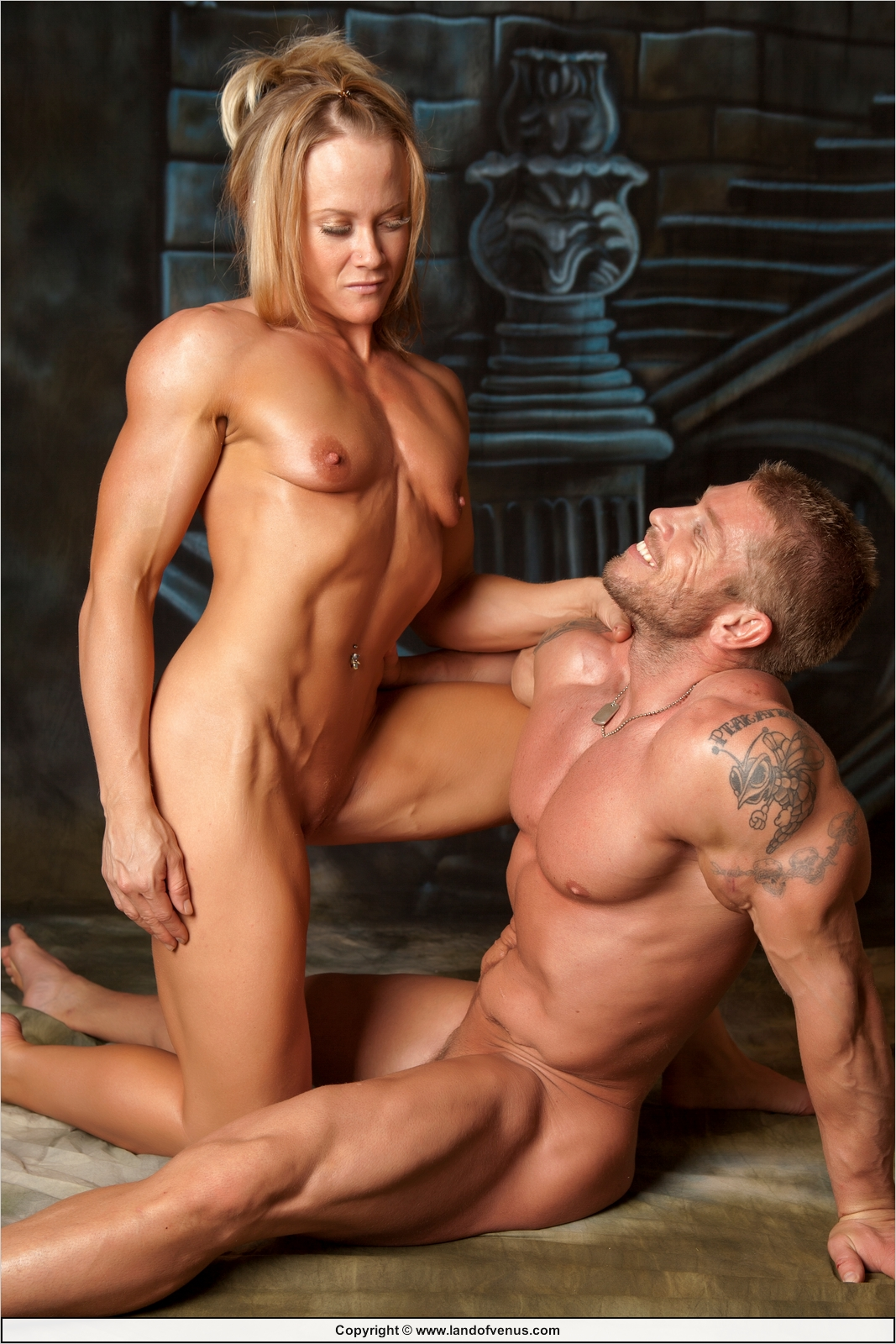 Woman fucking men with muscles sexy