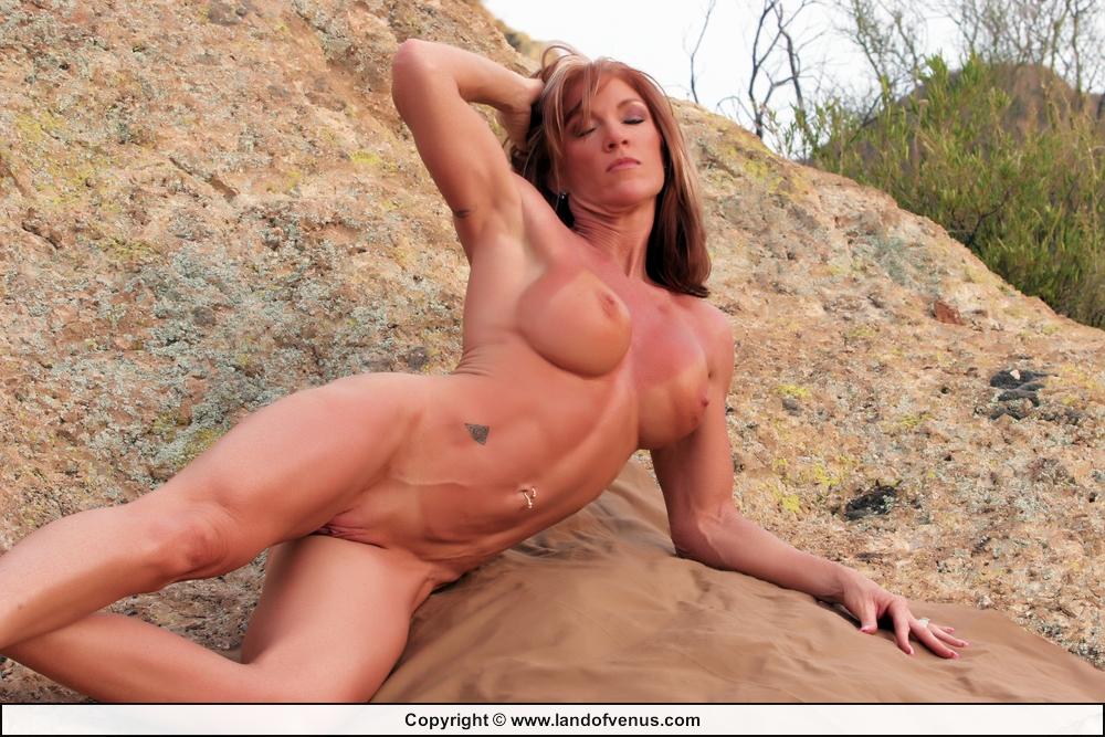 Naked mom in car