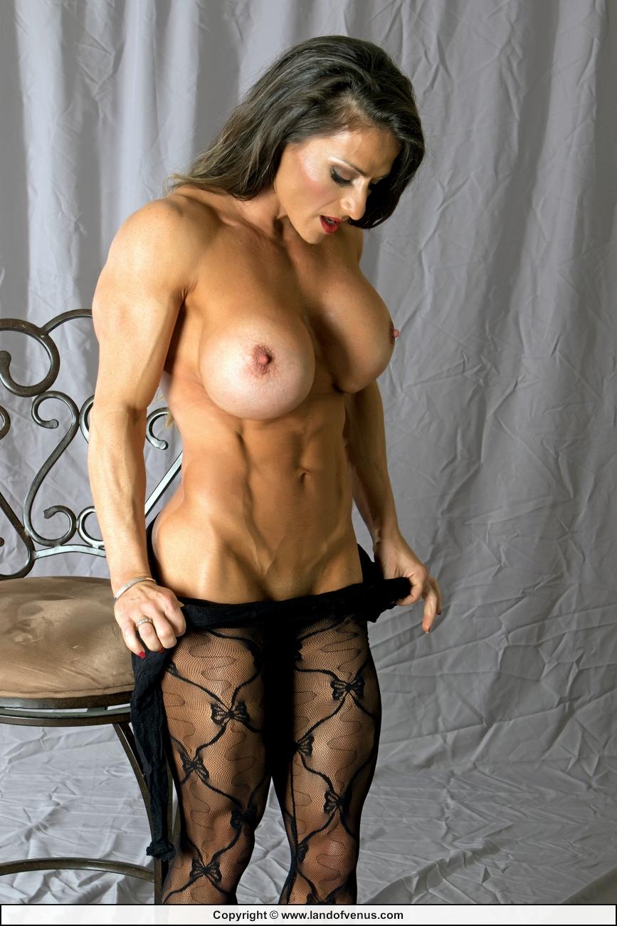 Hard female muscle femdom in control sheila rock